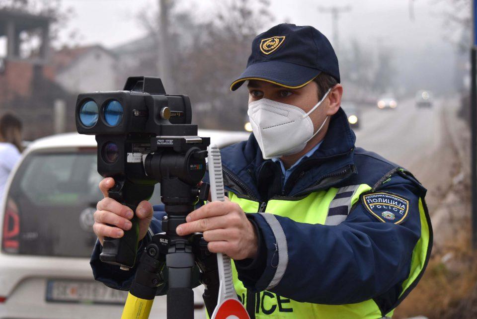Казнети 160 возачи во Скопје
