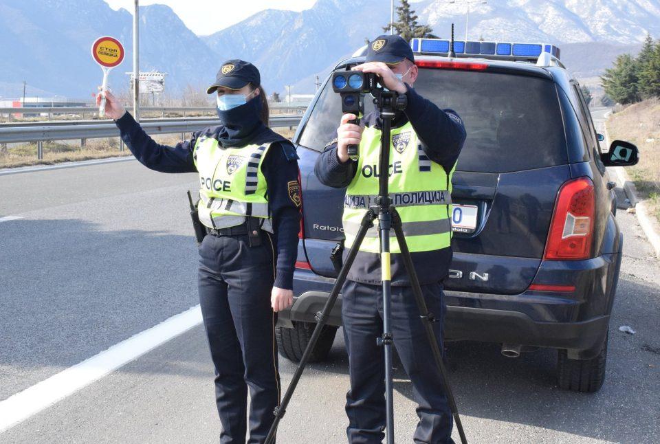 Акциска контрола во Ченто, во наредните денови засилени проверки