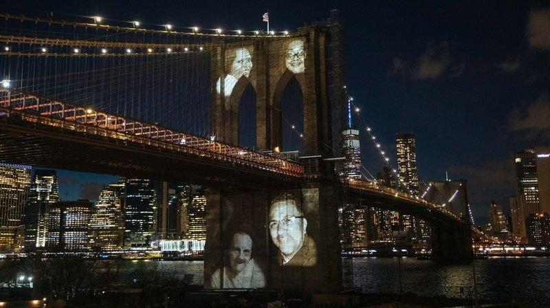 Њујорк им оддаде почит на околу 30.000 починати од последици од Ковид-19