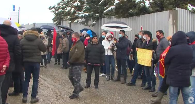 """(ВО ЖИВО) Протест за поддршка на уставобранителите """"Собир за слобода"""""""