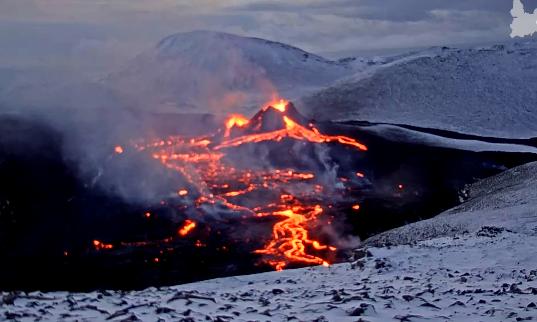 (ВО ЖИВО) Вулканска ерупција на Исланд