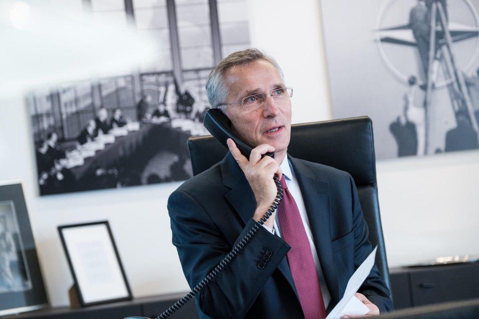 Столтенберг со честитки за успешната прва година членството во НАТО