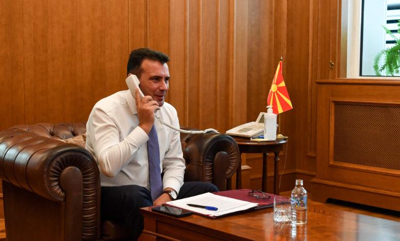 Фон дер Лајен го известила Заев дека ЕУ ќе обезбеди вакцини за Западен Балкан