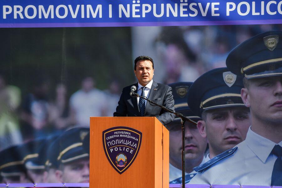 Заев до новите полицајци: Да им служите на сите припадници на народите на нашата земја