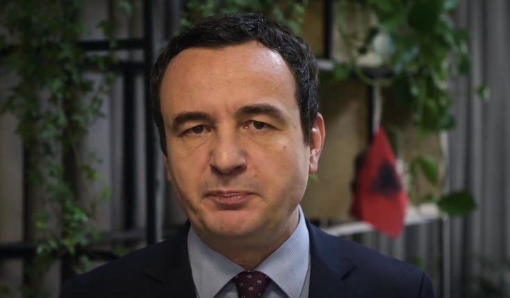 (ВИДЕО) Албин Курти ги повика иселениците Албанци од Македонија да се пријават на пописот