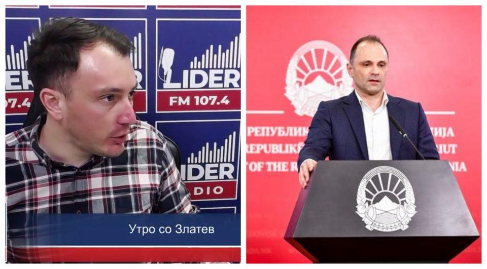 (ВИДЕО) Андоновски за Филипче: Тој има две најскапи агенции кои работат директно за него