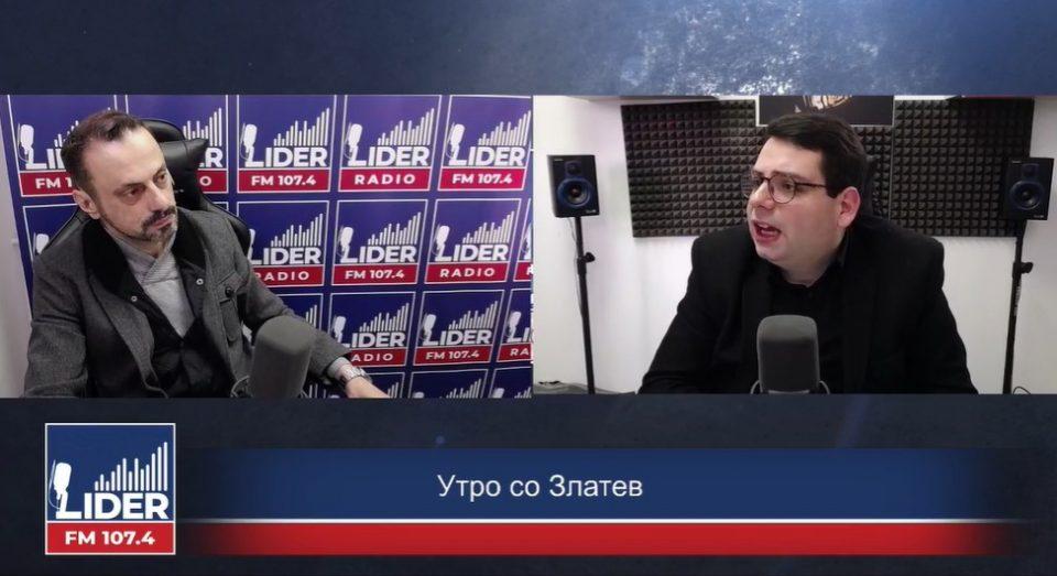 """(ВО ЖИВО) Александар Бежовски гостин во """"Утро со Златев"""""""
