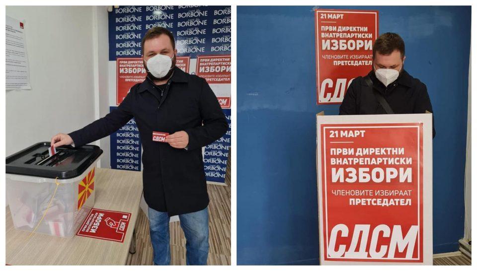 Богдановиќ: Гласав за мојот и ваш лидер!