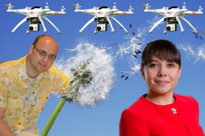 Сопругот на Царовска доби уште еден тендер: Земал 1 милион за со дрон да набљудува растенија!