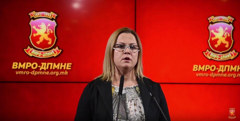 Стојаноска: Со Резолуцијата може само да се помогне во зацврстувањето на македонските државнички позиции