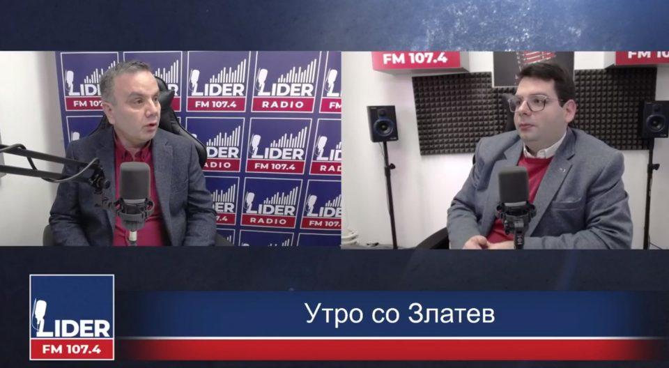 (ВИДЕО) Димитровски: За јазикот и идентитот не можете да преговорате без да направите црвена линија!