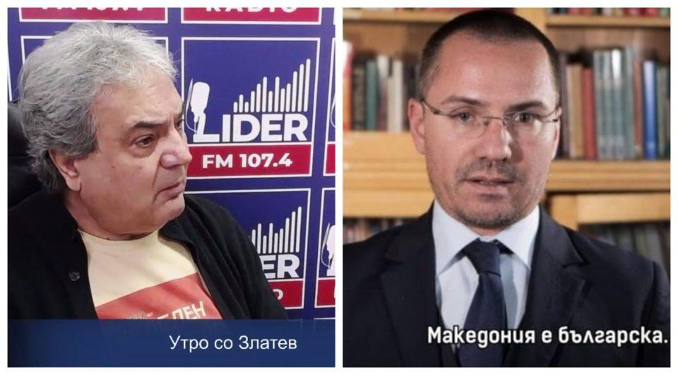 (ВИДЕО) Костов остро кон Џамбаски: Тој е евро-шљам