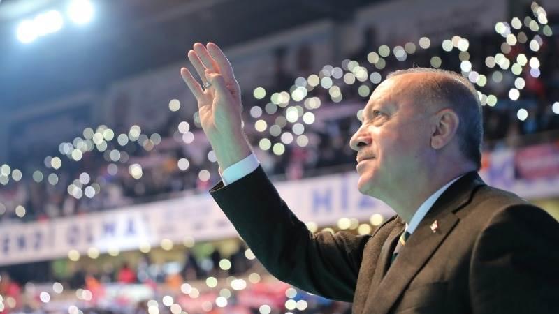 Ердоган е реизбран за претседател на АКП