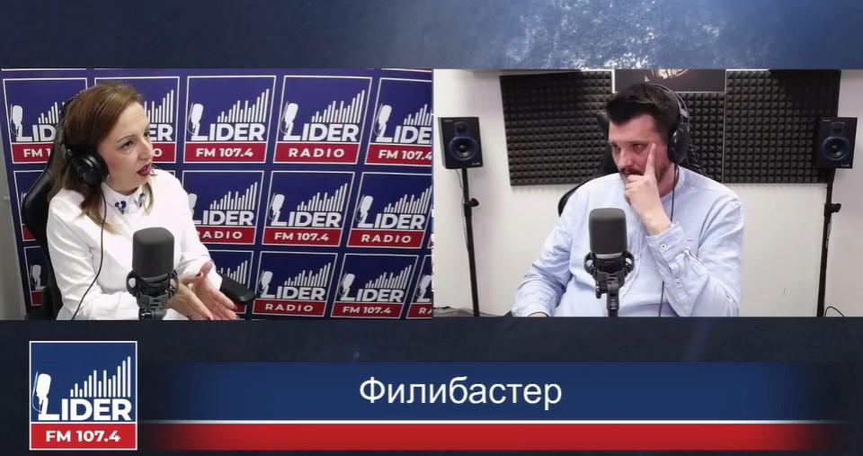 (ВО ЖИВО) Жаклина Пешевска гостин во Филибастер на Радио Лидер