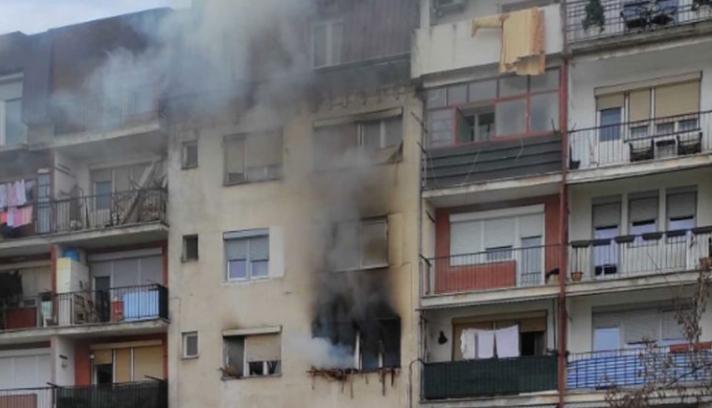Детето кое почина во пожарот во зграда во Гостивар било врзано со ланец!