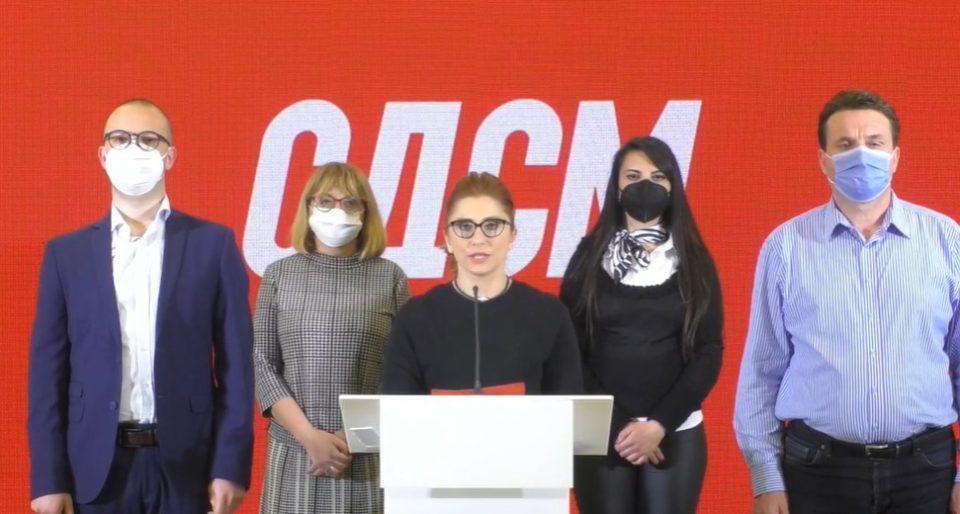 (ВИДЕО) Наредени како војници во СДСМ го прогласија единствениот кандидат Заев за лидер!