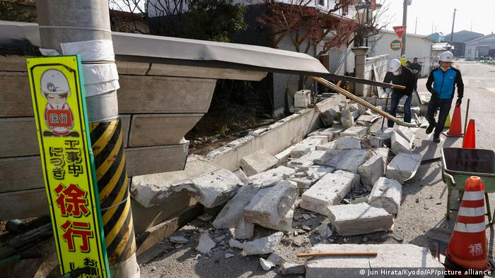 (ВИДЕО) Земјотрес со јачина од 7 степени по Рихтер: Објавени првите снимки од земјотресот во Јапонија