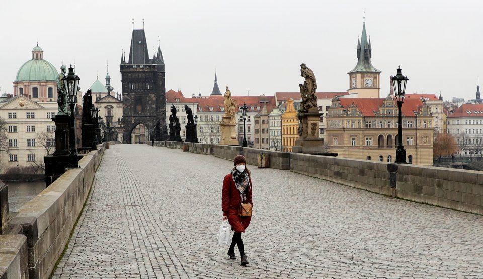 Евакуирано чешкото Министерство за внатрешни работи