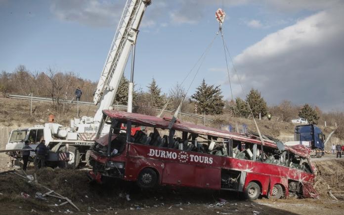 """Сопственикот на """"Дурмо Турс"""" го повика возачот да каже што се случило при несреќата кај Ласкарци"""