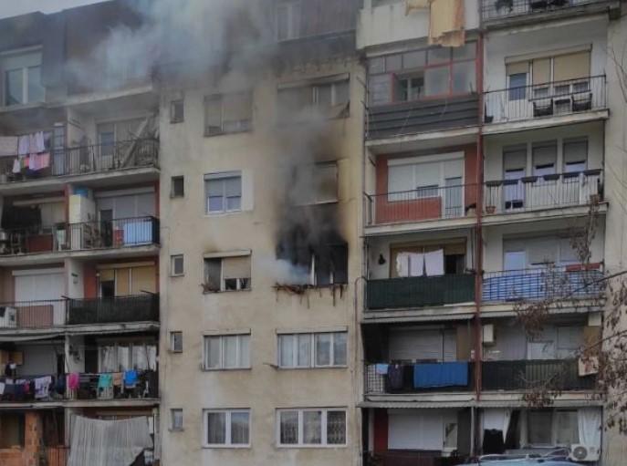 Приведена мајката на детето кое загина во пожарот во Гостивар