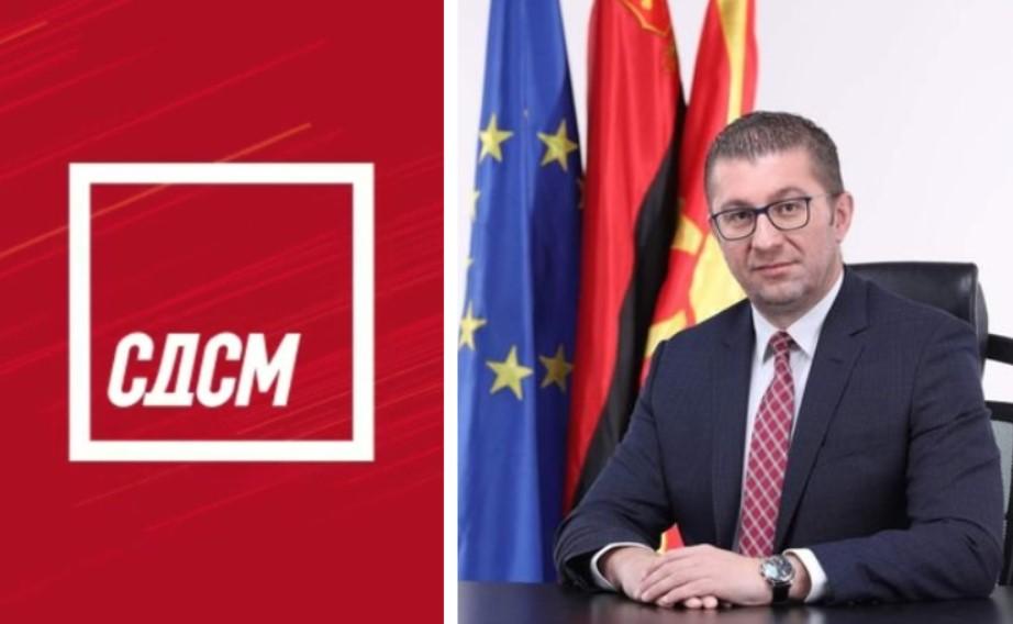 СДСМ пробува да возврати: Го обвинуваат Мицкоски дека ја поткопувал битката против пандемијата