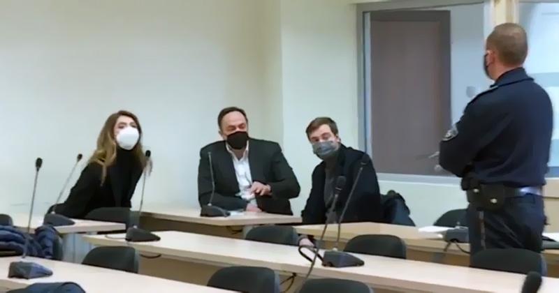 Сашо Мијалков се виде со Александра Мијалкова и синот Јордан