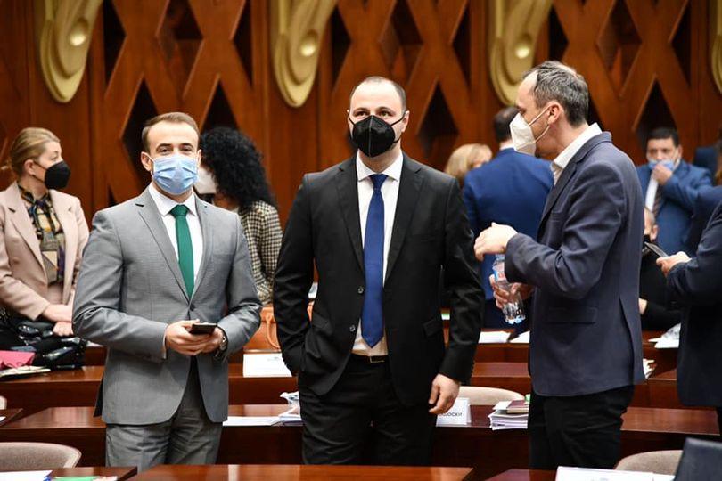 ВМРО-ДПМНЕ даде поддршка за законите кои се поврзани со ковид мерките и помошта за стопанството