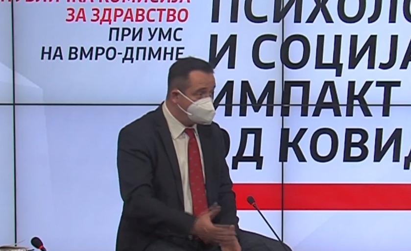 Д-р Николов: Да се преземат мерки за заштита на младите кои остануваат без работа, без студентскиот и без социјалниот живот