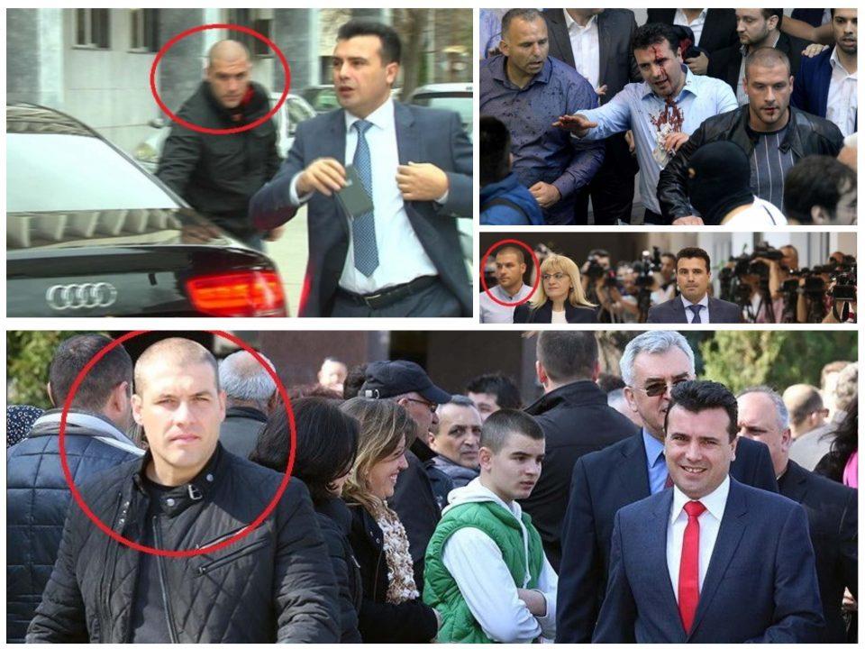 (ВИДЕО) Ова е бодигардот на Заев кој брутално тепаше човек во Струмица заедно со уште десет лица!