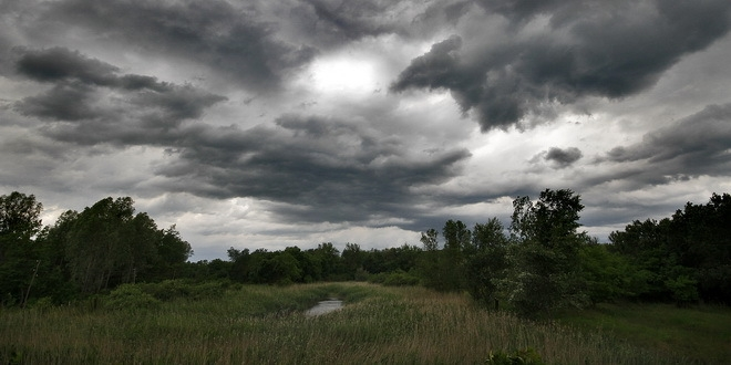 Променливо облачно време, ќе дува умерен ветер од северен правец