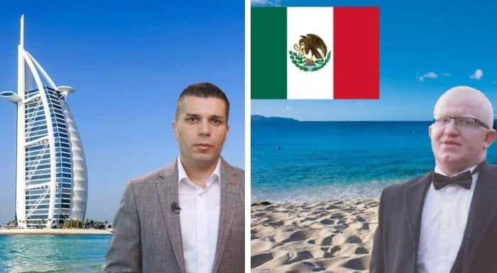 (ВИДЕО) Дали Рашковски и Николовски се на одмор или во Дубаи и Мексико перат пари?