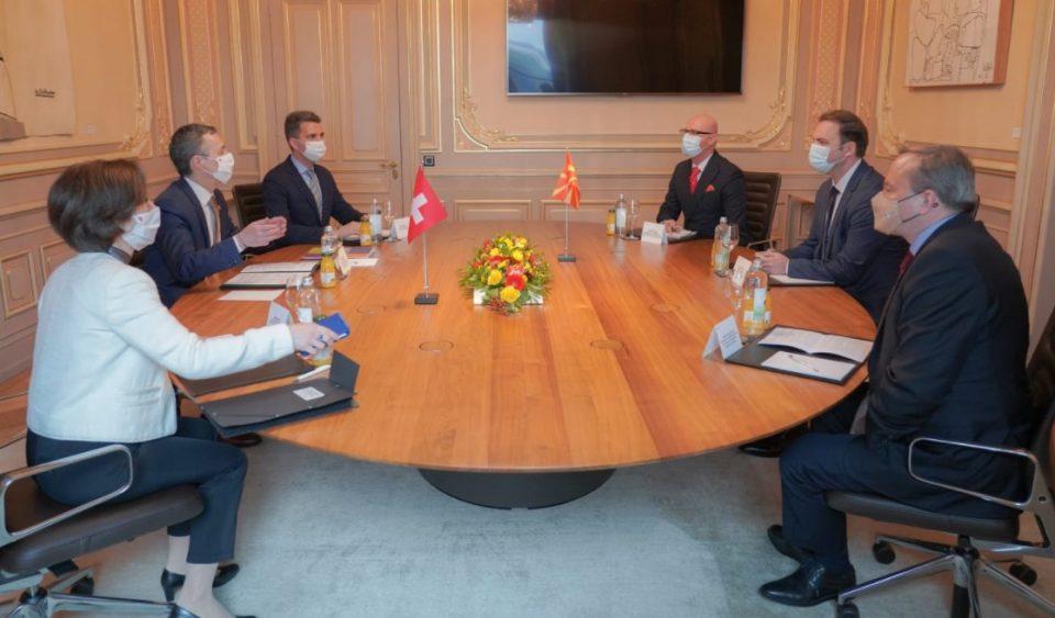 Османи се сретна со шефот на швајцарската дипломатија, Игнацио Касис