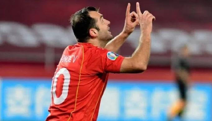 Гол на Пандев за 1:0, Македонија заминува на полувреме со предност