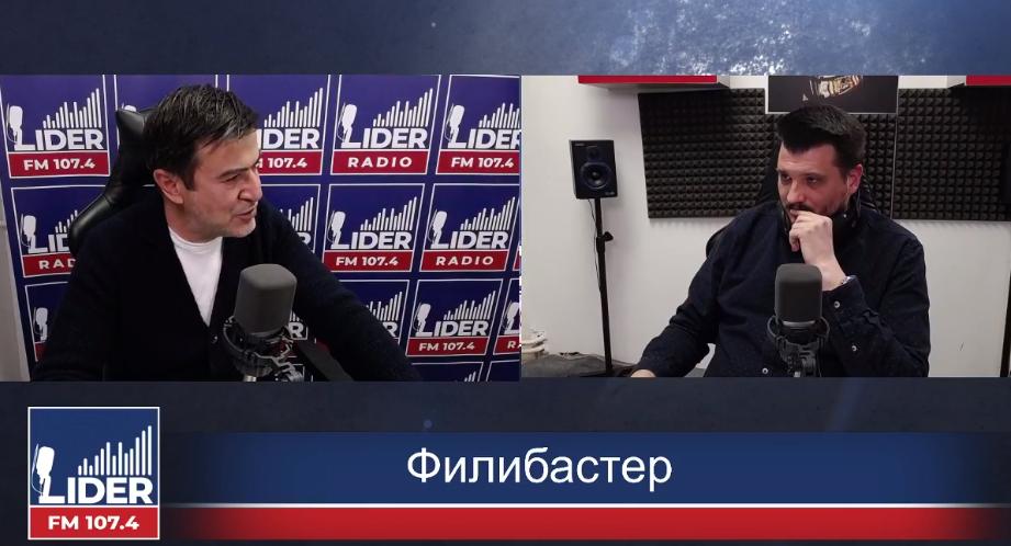"""(ВО ЖИВО) Александар Пандов гостин во """"Филибастер"""""""