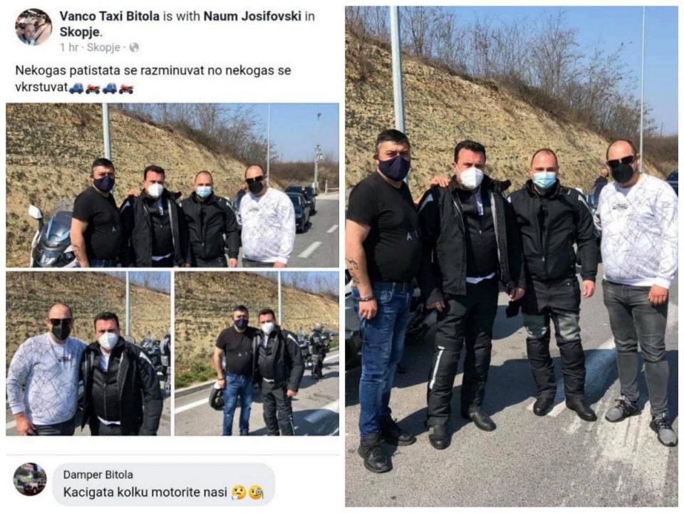 (ФОТО) Филипче и Заев возат мотори: Додека државата гори од пандемијата