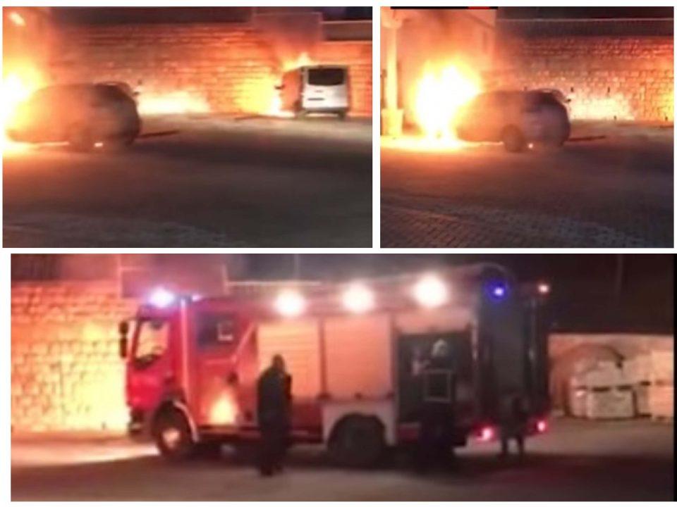 Полицијата го откри пироманот кој запали две возила пред хотел во Охрид