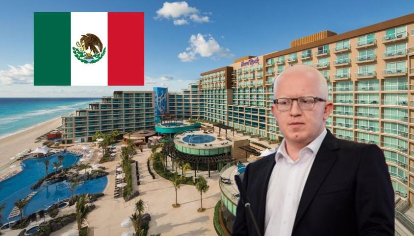 Драги Рашковски се враќа од одморот во Мексико