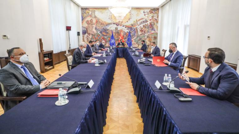 Во тек е седницата на Советот за безбедност за состојбата со пандемијата
