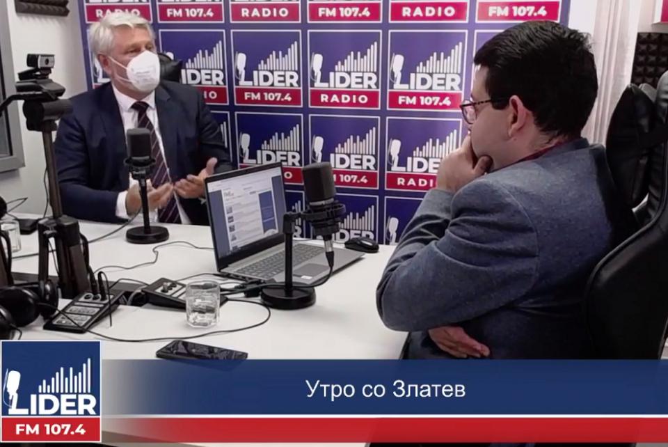 Јакимовски:  Не е добро за власта да отвора сомнеж дека апсењето на Камчев е нова политичка пресметка