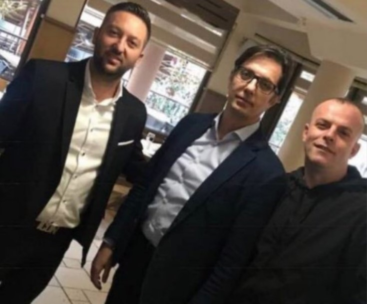 (ФОТО) Претседателот Пендаровски во друштво на избеган наркобос од групата во Грчец!