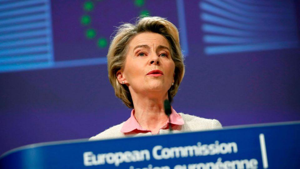 (ФОТО) Шефицата на Европската комисија се вакцинираше против Ковид-19