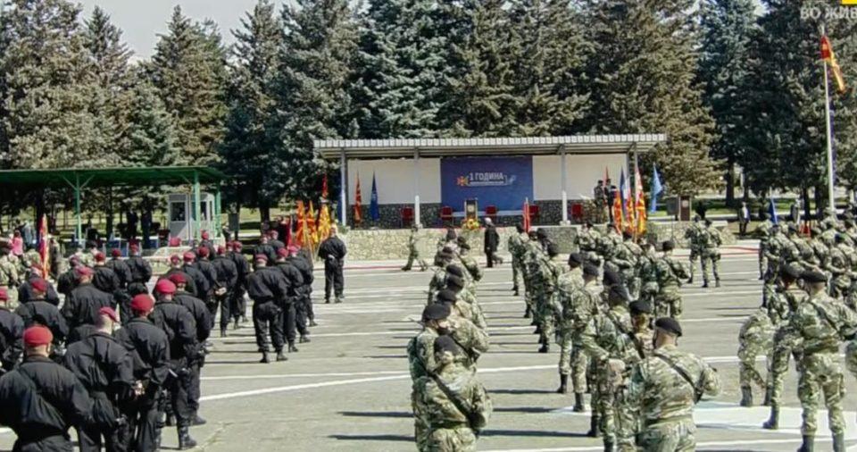 (ВО ЖИВО) Настан по повод една година членство во НАТО