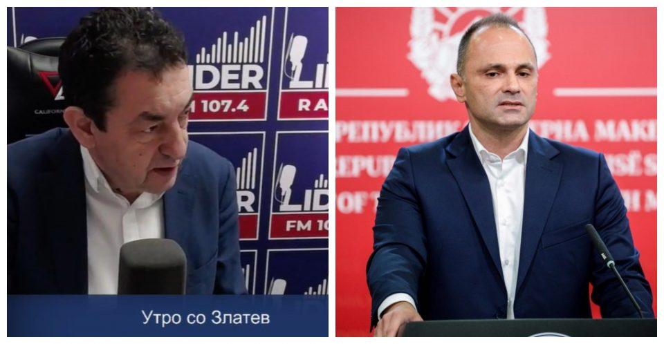 (ВИДЕО) Зафировски остро кон Филипче: Го повикувам министерот да помине барем пет дена во Ковид центар како доктор