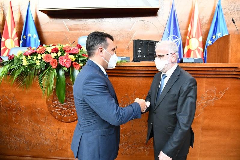 Средба Заев-Џафери: Ќе ги најдеме потребните заеднички решенија во корист на граѓаните