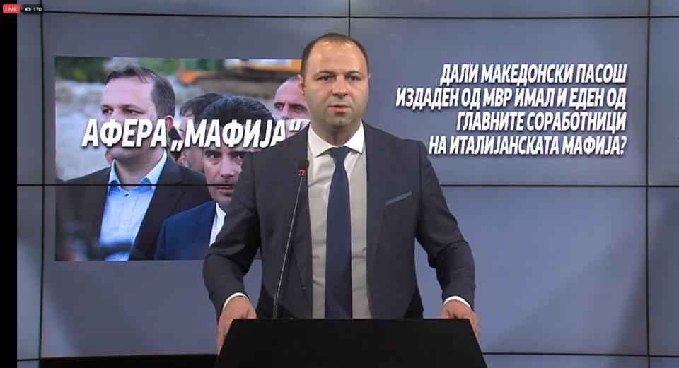 """(ВО ЖИВО) ВМРО-ДПМНЕ објавува нови имиња за аферата """"Мафија"""""""