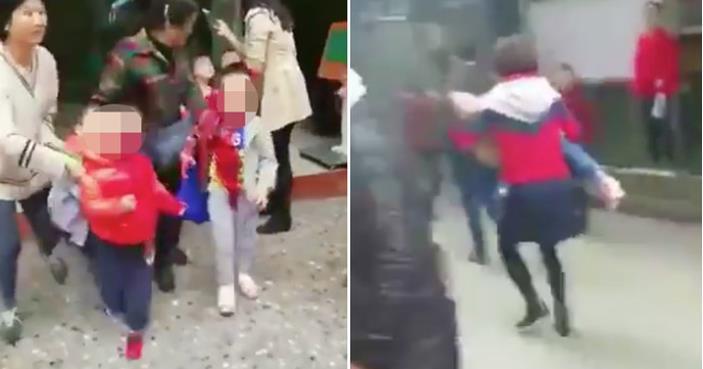(ВИДЕО) Напад со нож во градинка: Eдно лица убиено, 17 повредени – повеќето деца