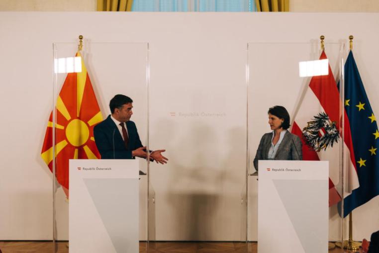 Едштадлер: Виена ќе продолжи да дава поддршка кон С. Македонија на патот кон ЕУ
