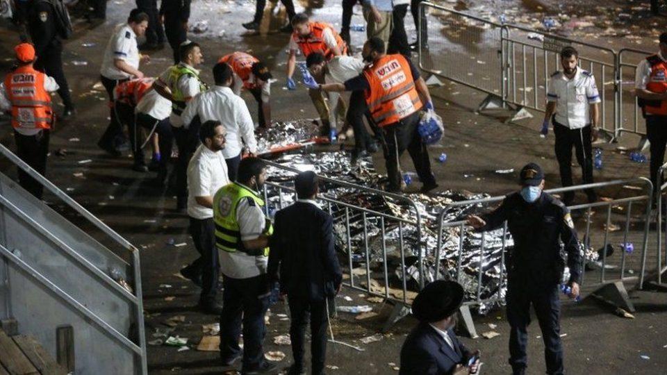 (ВИДЕО) Трагедија во Израел: Десетици мртви во стампедо на религиозен фестивал