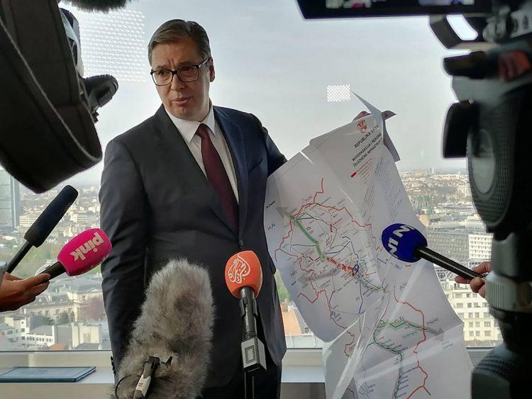 Вучиќ: Од Белград до Скопје со воз ќе се патува за три и пол часа