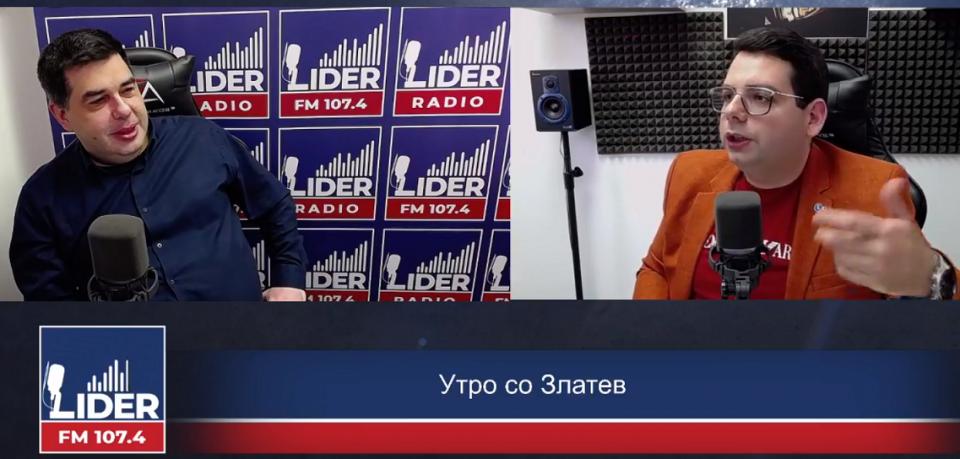 """(ВО ЖИВО) Драган Милосављевиќ гостин во """"Утро со Златев"""""""